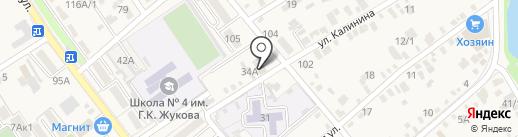 МК на карте Динской