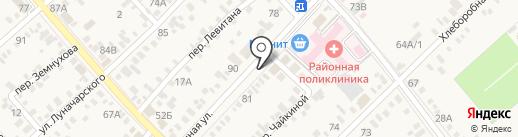 Аптечный склад на карте Динской
