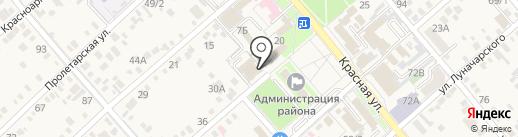 БОРИСФЕН на карте Динской