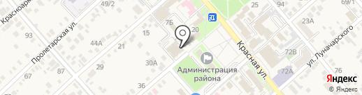 Платежный терминал на карте Динской