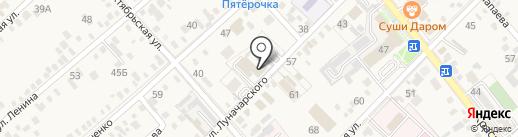 Динской районный суд на карте Динской