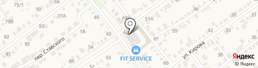 VIRBACauto на карте Динской