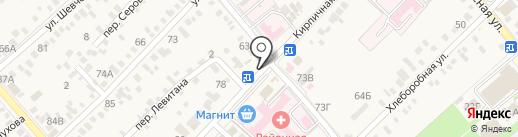 Дракон на карте Динской