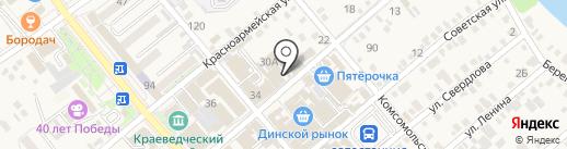 Web-tehnologii.ru на карте Динской