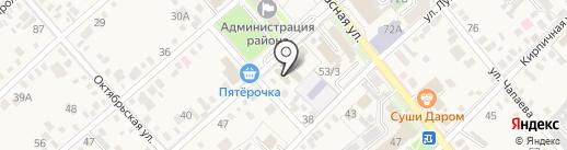 Промо на карте Динской