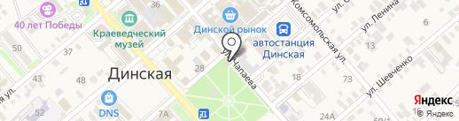 Булочная на карте Динской