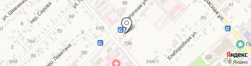 Ермолино на карте Динской