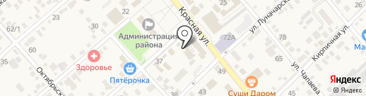 Туалет на карте Динской