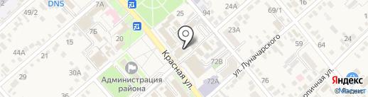 The Loft на карте Динской