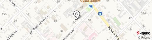 Миластас на карте Динской