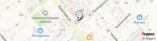 Динской центр культуры на карте Динской