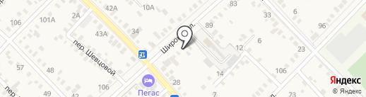 ДЭС на карте Динской