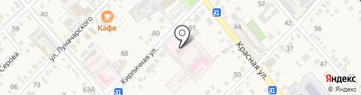 Центральная районная больница на карте Динской