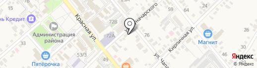 Ком-М на карте Динской