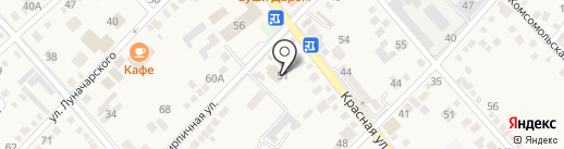 Акцент на карте Динской