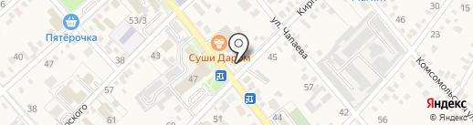 Карусель на карте Динской