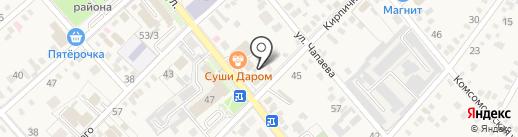 Салон-ателье на карте Динской