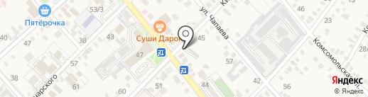 Анвантим на карте Динской