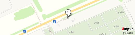 Магазин строительных материалов на карте Ленины