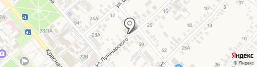 Инна на карте Динской