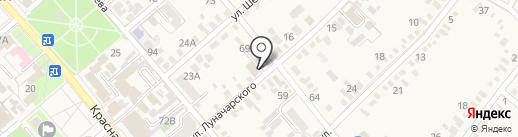 Югинтерсети на карте Динской