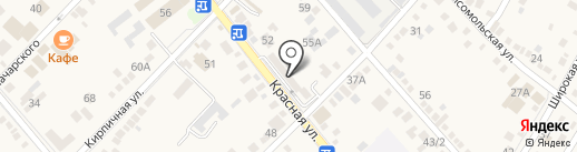 Юг-Ломбард на карте Динской