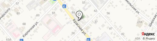Ангел на карте Динской