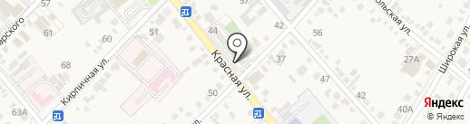 Магазин женской одежды на карте Динской