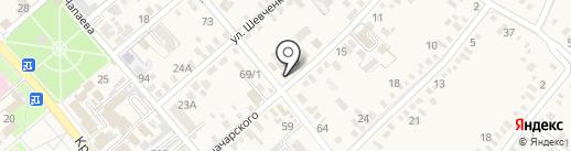 Стимул на карте Динской