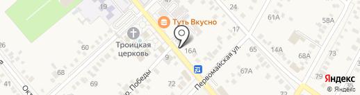 Скрудж МакДак на карте Динской