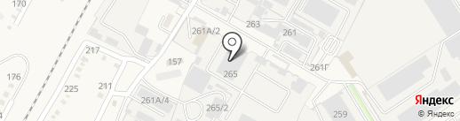 ДинскМодуль на карте Динской