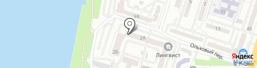 ТЕРАБАЙТ на карте Воронежа