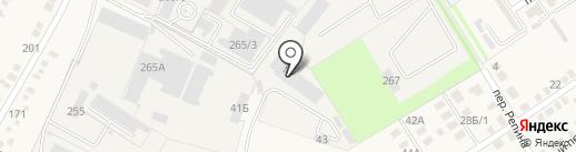 Автостан на карте Динской