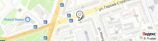 Магазин по продаже фруктов и овощей на карте Воронежа