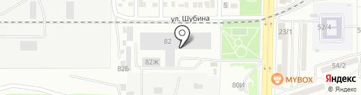 Конси и Ко на карте Воронежа