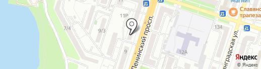 Гелиос на карте Воронежа