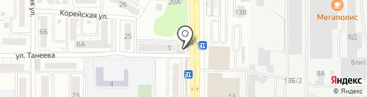 Церковная лавка на карте Воронежа