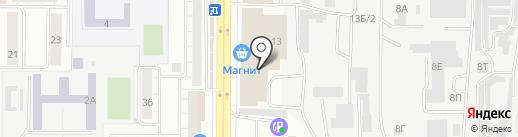 НИ`точка на карте Воронежа