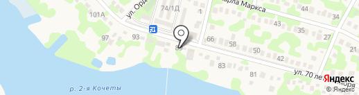 Хуторок на карте Динской