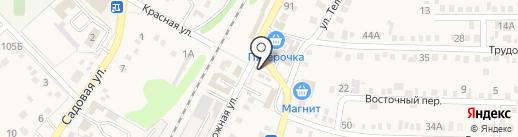 Парикмахерская на ул. Тельмана (Динская) на карте Динской