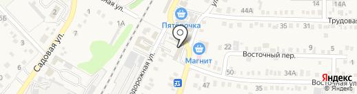 Магазин строительных материалов на карте Динской