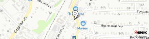 Феникс на карте Динской
