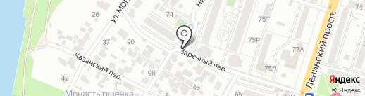 Источник здоровья на карте Воронежа