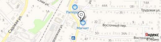 Магазин мебельной фурнитуры на карте Динской