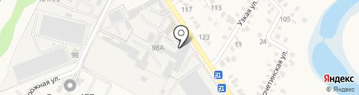 Альтаир на карте Динской