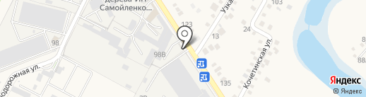 Исток на карте Динской
