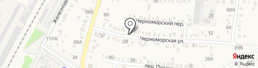 Велес на карте Динской