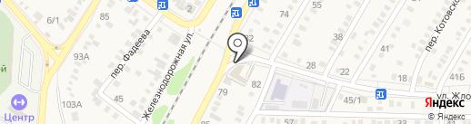 СТО на карте Динской