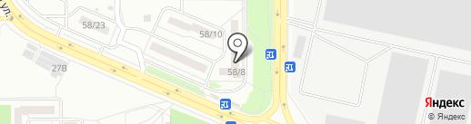 Здоровый Город на карте Воронежа