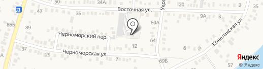 Ковсар на карте Динской